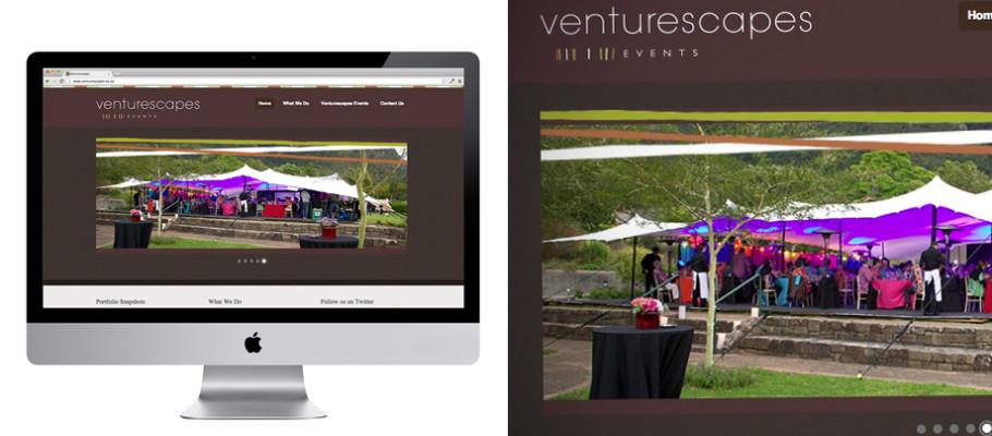 Venturescapes Website
