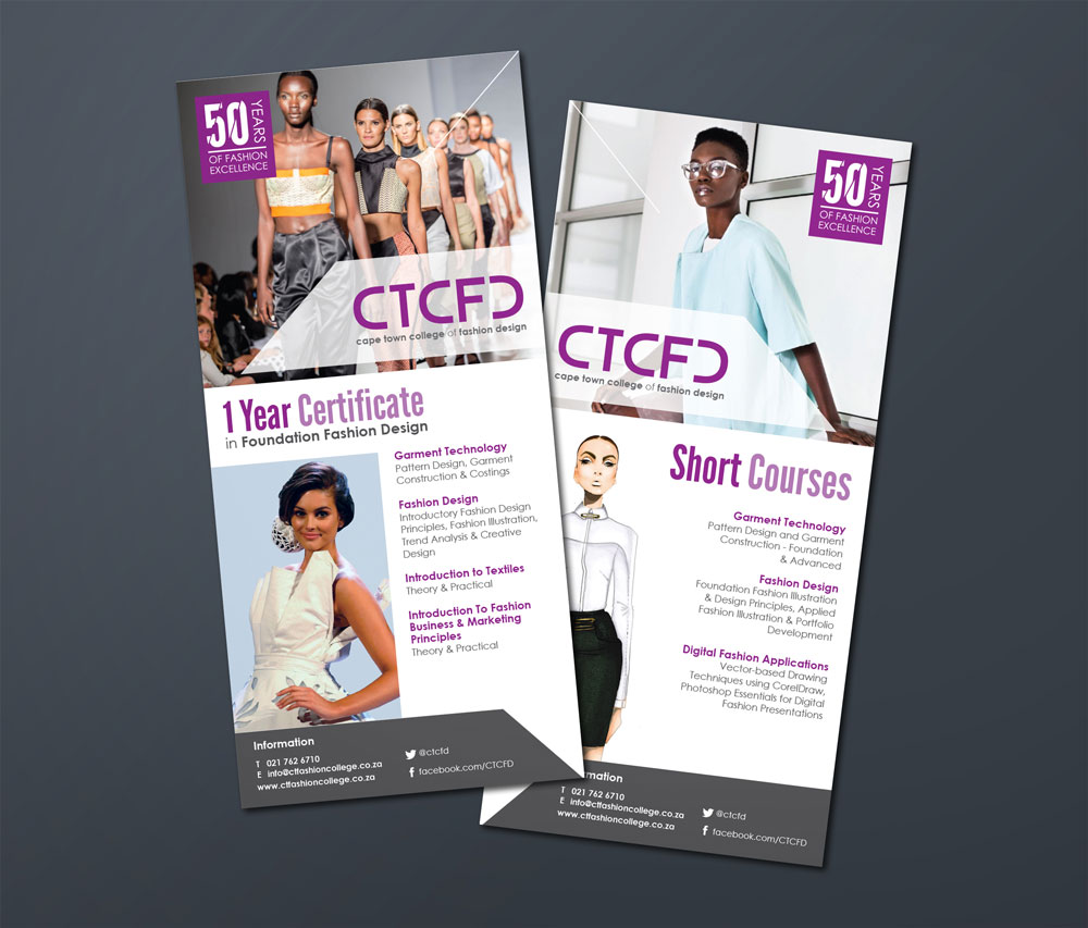 Cape Town College Of Fashion Design Rebranding Brandesign